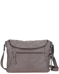 The Sak Esperato Leather Flap Hobo