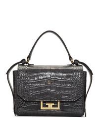 Givenchy Grey Croc Mini Eden Bag