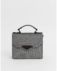 Aldo Structured Mini Grab Bag With Cross Body