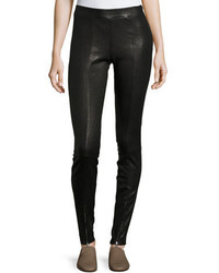 Elizabeth and James Eddine Leather High Waist Skinny Pants