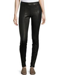 Eddine leather high waist skinny pants medium 4948634
