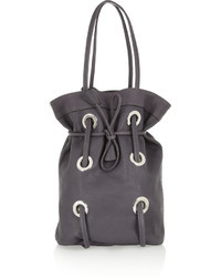 Marni Eyelet Detailed Leather Tote