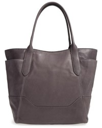 Frye Paige Leather Tote Brown