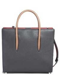 Christian Louboutin Medium Paloma Leather Tote Black