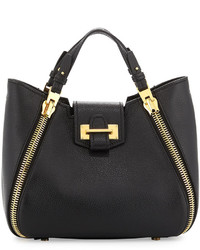 ae40c8c86cbf Women s Charcoal Leather Tote Bags by Tom Ford