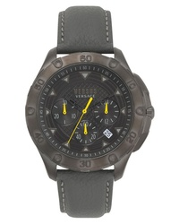 Versace Versus Simons Town Chronograph Leather Watch
