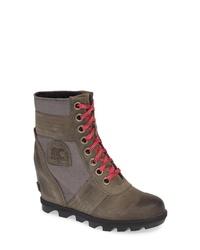 Sorel Lexie Wedge Waterproof Boot