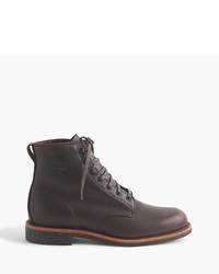 Chippewa Original For Jcrew Leather Plain Toe Boots