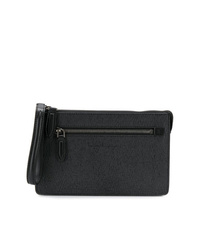 Salvatore Ferragamo Textured Clutch Bag