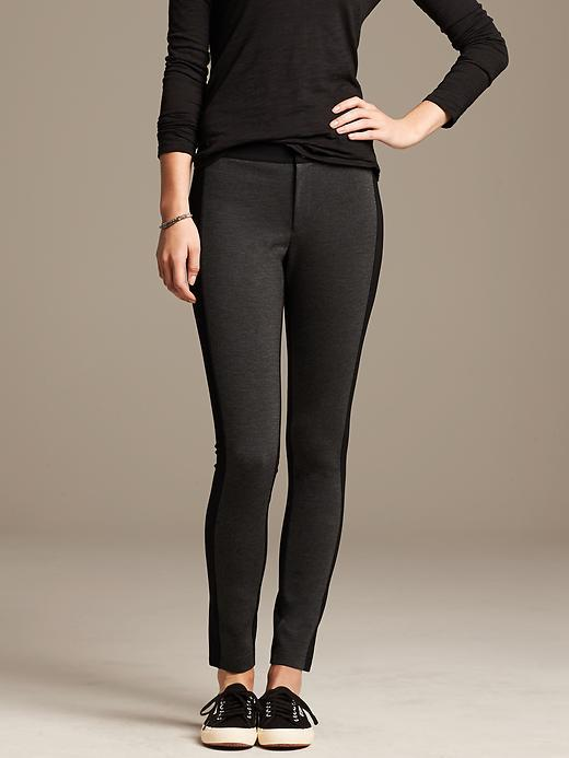 Banana Republic Colorblock Ponte Legging | Where to buy & how to wear