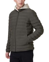 Charcoal Lightweight Puffer Jacket
