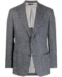 Tom Ford Single Beasted Crosshatch Jacket