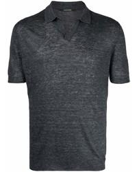 Tagliatore Rib Trimmed Polo Shirt