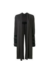 Charcoal Long Cardigan