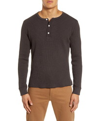 Madewell Thermal Henley T Shirt