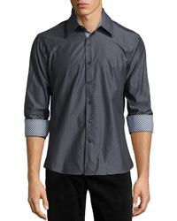 Charcoal Long Sleeve Shirt
