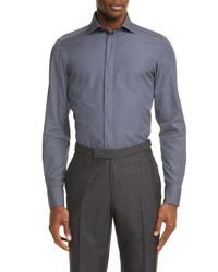 Ermenegildo Zegna Classic Fit Button Up Shirt