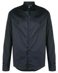 Emporio Armani Contrast Stripe Slim Fit Shirt