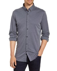 Mizzen+Main Fit Pique Knit Shirt