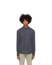 Z Zegna Grey Jersey Shirt
