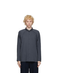 Homme Plissé Issey Miyake Grey Jersey Shirt
