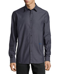 Just Cavalli Long Sleeve Dress Shirt Charcoal