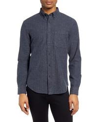 Club Monaco Slim Fit Donegal Herringbone Shirt