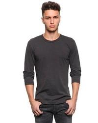 Dolce & Gabbana Cotton Jersey Long Sleeve T Shirt