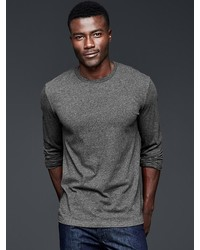 Gap Essential Long Sleeve Crewneck T Shirt