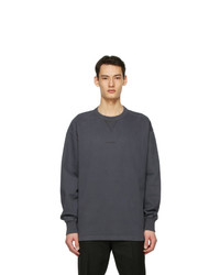 Acne Studios Grey Logo Sweatshirt
