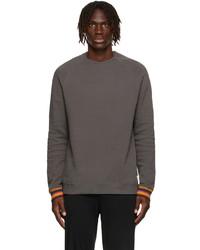 Paul Smith Grey Top Long Sleeve T Shirt