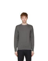 Loro Piana Grey Wish Wool T Shirt Sweater