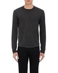 James Perse Jersey Long Sleeve T Shirt