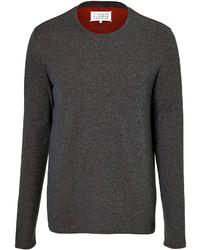 Maison Margiela Cotton Pinstripe Long Sleeve T Shirt