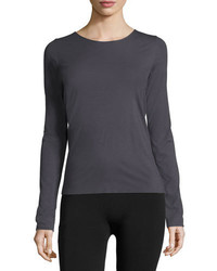 Wolford Pure Long Sleeve Pullover Tee