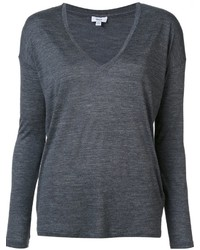Vince V Neck Longsleeved T Shirt