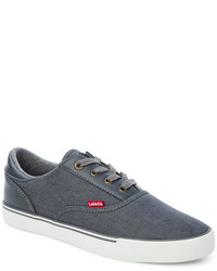 Levi's Charcoal Ethan Denim Sneakers