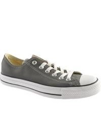 Converse Chuck Taylor All Star Lo Leather 132175c Charcoal Sneakers