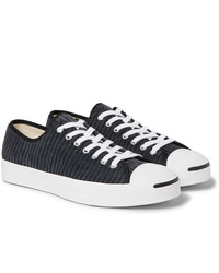 Converse Jack Purcell Ox Rubber Trimmed Corduroy Sneakers