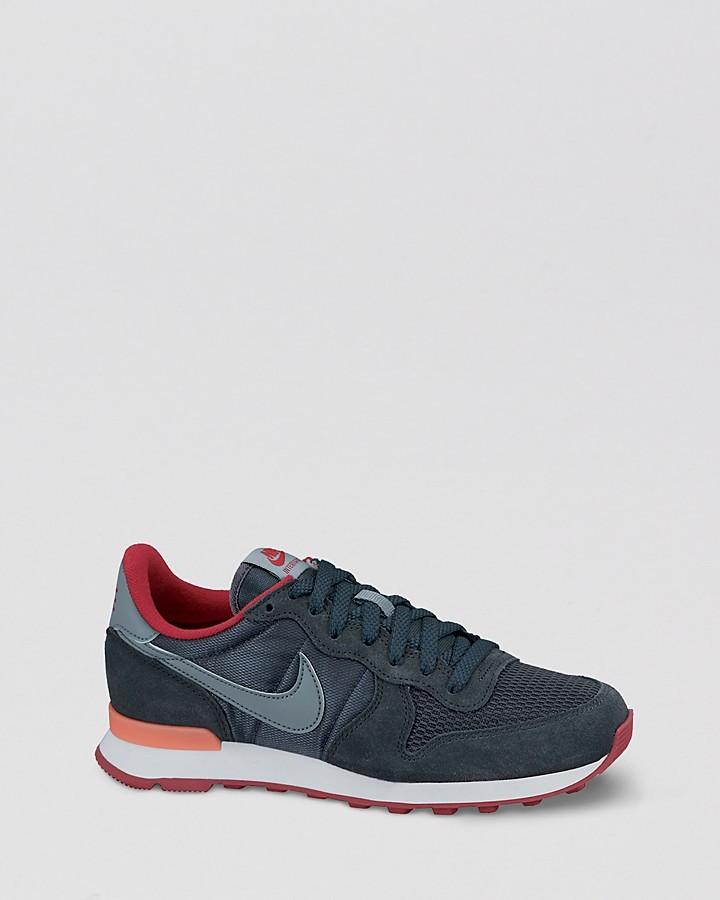 size 40 ebd77 51894 ... usa nike lace up running sneakers internationalist jogger 65cc3 1f796