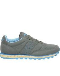 Saucony jazz low pro vegan grey fashion sneakers medium 469652