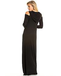 b08bbfcf45d ... Dresses Elan Cold Shoulder Hoodie Maxi Dress Elan Cold Shoulder Hoodie  Maxi Dress ...