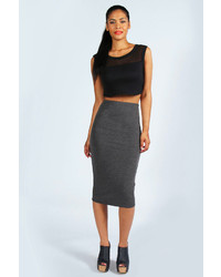 Alexis midi jersey tube skirt medium 150568