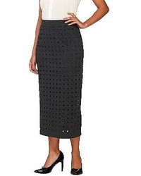 Project runway by sonjia williams project runway for gili by sonjia williams midi skirt with cut out detail medium 150570