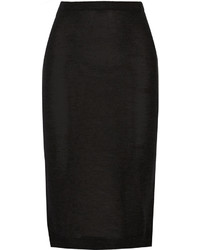 Isabel Marant Truman Cashmere And Silk Blend Midi Skirt