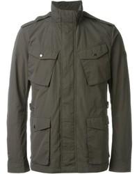 Charcoal Military Jacket
