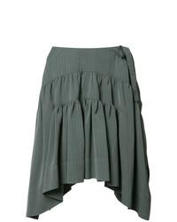 Drape mini skirt medium 7975841