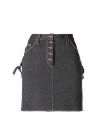 Stitching detail mini skirt medium 7975978