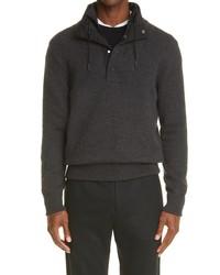 Ermenegildo Zegna Double Layer Collar Cashmere Sweater
