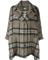 Charcoal Mohair Coat